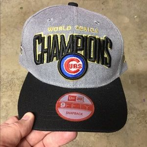 NEW Chicago Cubs WS SnapBack Hat